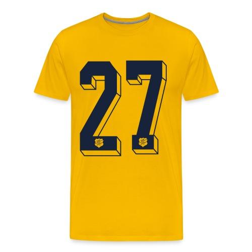 Shirt 27er - Männer Premium T-Shirt