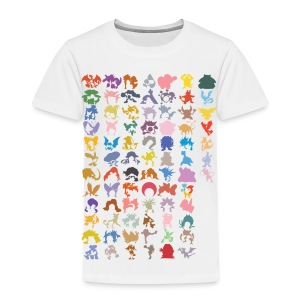 Caught 'em All   #151  (kids) - Kinderen Premium T-shirt