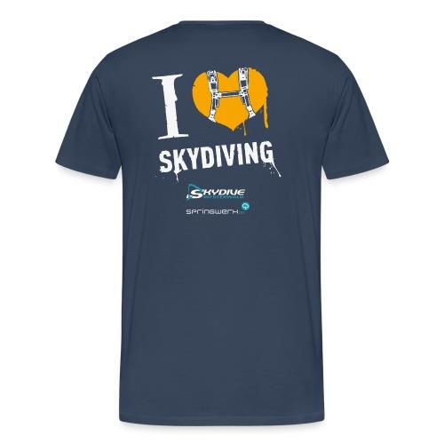 We love Skydiving - Männer Premium T-Shirt