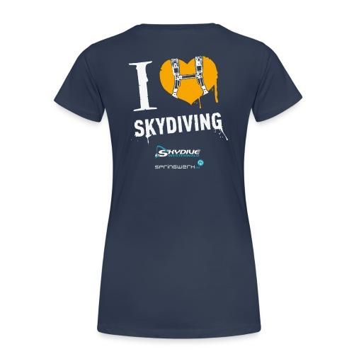 We love Skydiving - Frauen Premium T-Shirt