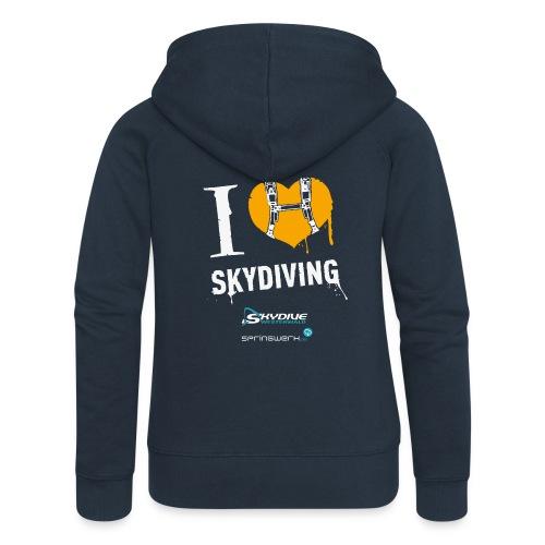We love Skydiving - Frauen Premium Kapuzenjacke