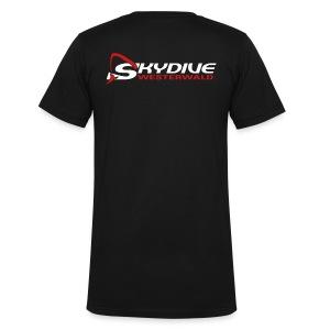 Skydive Westerwald - Männer Bio-T-Shirt mit V-Ausschnitt von Stanley & Stella