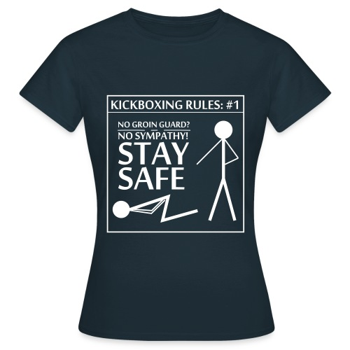Kickboxing Rules: #1 - Women's T-Shirt
