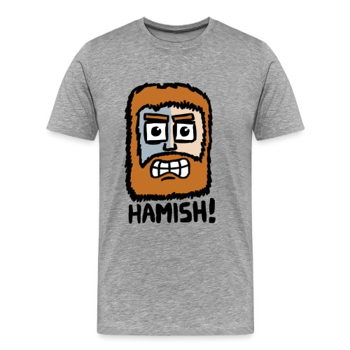 Scottish Hamish T-Shirt - Men's Premium T-Shirt