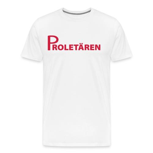 Kortärmad Proletären-tröja Herr - Premium-T-shirt herr
