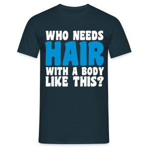 Hair T-shirts - Mannen T-shirt