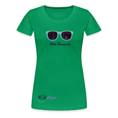 LH Rules Collector #LHBeach F rond (Vert) - T-shirt Premium Femme