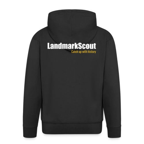 LandmarkScout Hoodie Classic - Men's Premium Hooded Jacket