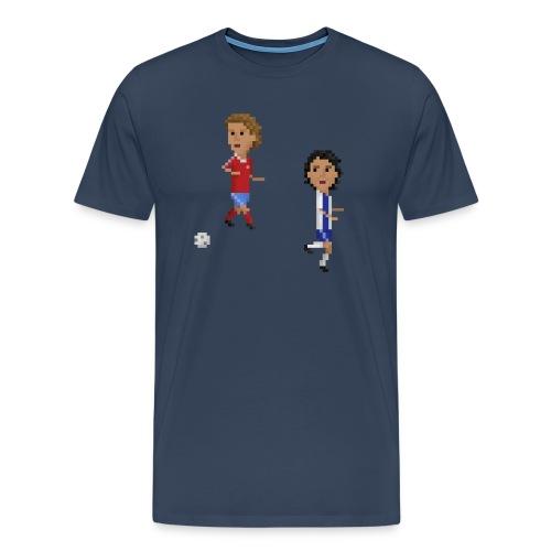 Men T-Shirt Champions Goal 1987 - Men's Premium T-Shirt