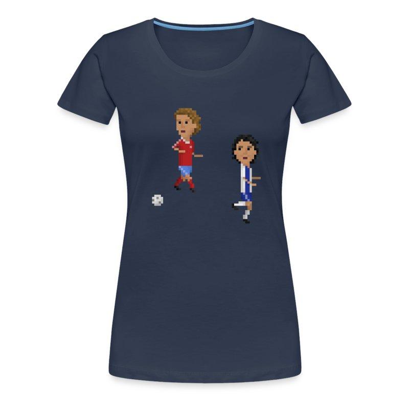 Women T-Shirt Champions Goal 1987 - Women's Premium T-Shirt