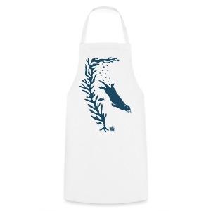 sea otter kelp forest california see meer ocean T-Shirts - Kochschürze