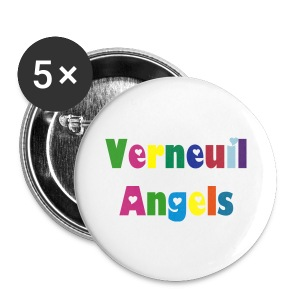 Petit badge Verneuil Angels - Badge petit 25 mm