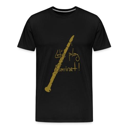 clarinet - Männer Premium T-Shirt