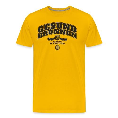 Gesundbrunnen - Männer Premium T-Shirt