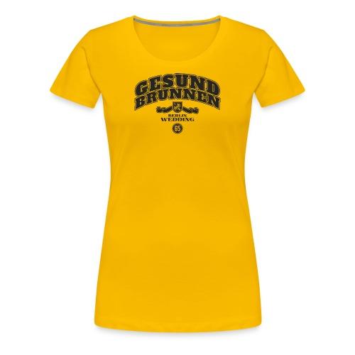 Gesundbrunnen - Frauen Premium T-Shirt
