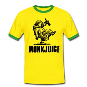MonkJuice - Men's Ringer Shirt