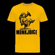 T-Shirts ~ Men's Premium T-Shirt ~ MonkJuice