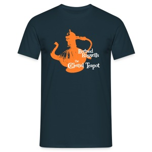 Bertrand Russell's - the Celestial Teapot  - Men's T-Shirt