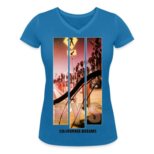 RYS//Sommer14California - Frauen Bio-T-Shirt mit V-Ausschnitt von Stanley & Stella
