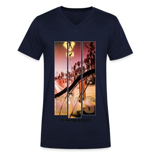 RYS//Sommer14California - Männer Bio-T-Shirt mit V-Ausschnitt von Stanley & Stella