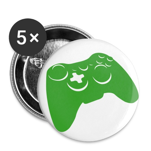 Buttons/Badges mellemstor, 32 mm (5-pack)