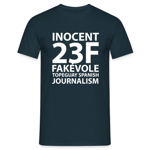 FAKÉVOLE 23F DAY INOCENTE INOCENTE - Men's T-Shirt