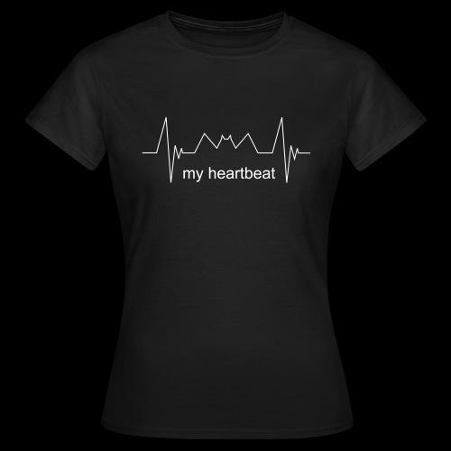 Heartbeat - Maglietta da donna