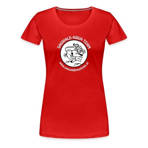 SAT Logoshirt Woman - Frauen Premium T-Shirt