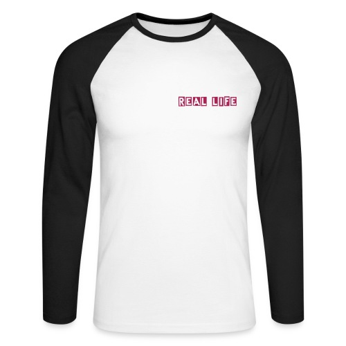 Real Life Sweat NARLEY - Men's Long Sleeve Baseball T-Shirt