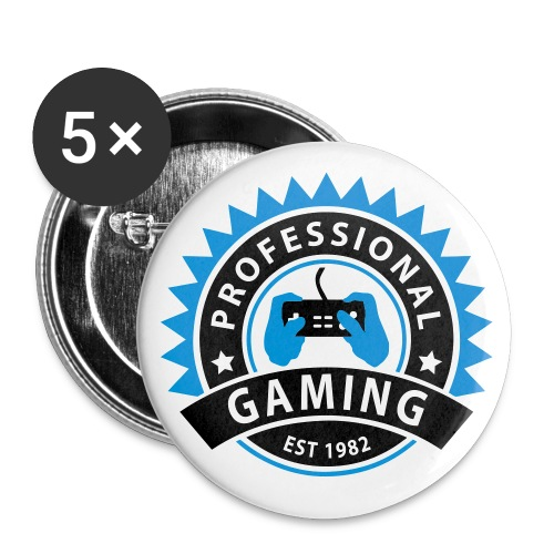 Gaming - Buttons small 1''/25 mm (5-pack)