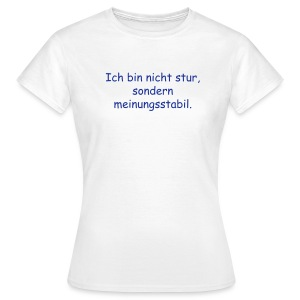 Girls T-Shirt stur, rot - Frauen T-Shirt