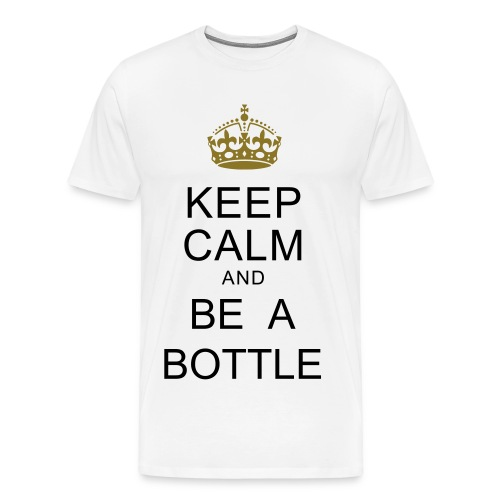 BE A BOTTLE - Men's Premium T-Shirt