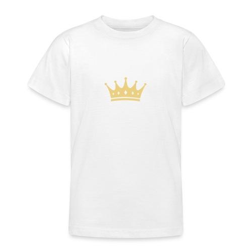 de halfe t-shirt van de koning - Teenager T-shirt