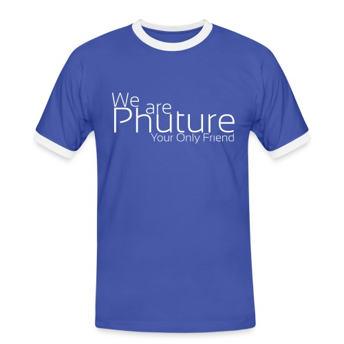 we_are_phuture - T-shirt contraste Homme