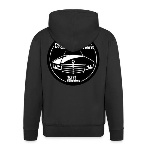 5,6 Hubraum Hoodie black - Men's Premium Hooded Jacket