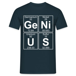 Ge-Ni-U-S (genius) - Men's T-Shirt