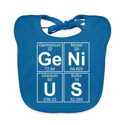 Ge-Ni-U-S (genius) - Baby Organic Bib