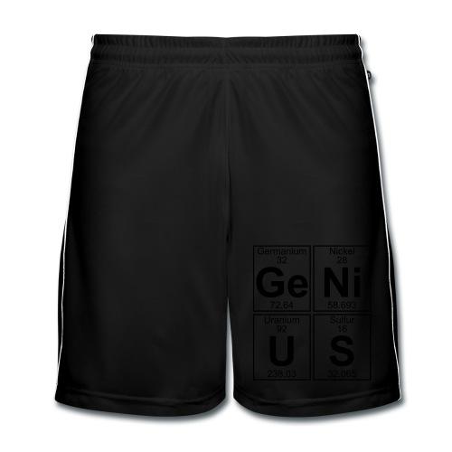 Ge-Ni-U-S (genius) - Men's Football shorts