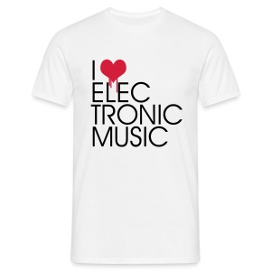 I Love Electronic Music - Classic Tee - Men's T-Shirt