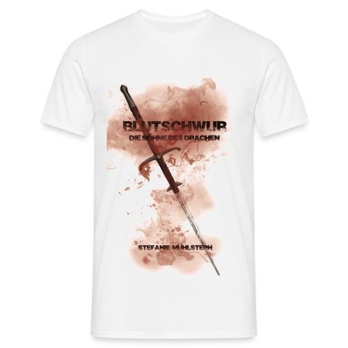 Bluschwur weiß (T-Shirt Männer) - Männer T-Shirt