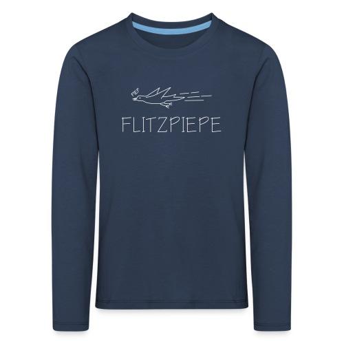flitzpiepe vogel piep tschirp flitzen kinder depp t-shirt - Kinder Premium Langarmshirt
