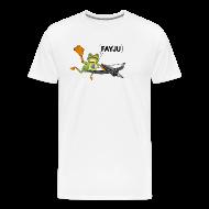 T-Shirts ~ Men's Premium T-Shirt ~ Amazing Frog Crossbow