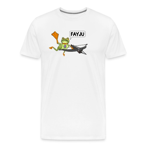 Amazing Frog Crossbow - Men's Premium T-Shirt