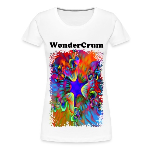 Women's Premium T-Shirt 'Mystical Flower' - Women's Premium T-Shirt
