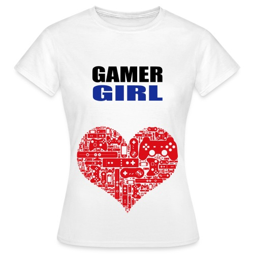 Gamer Girl T-Shirt - Women's T-Shirt