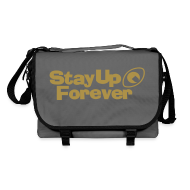Bags & Backpacks ~ Shoulder Bag ~ Stay Up Forever shoulder bag with metallic gold print