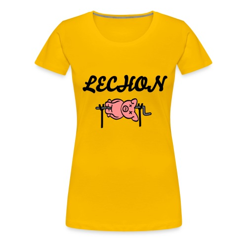 Ladies Lechon Tee - Women's Premium T-Shirt