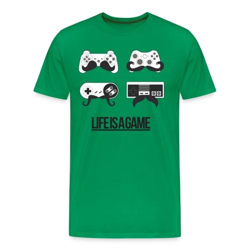 Life is a Game - Männer Premium T-Shirt