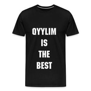Qyylim is the best - T-shirt Premium Homme