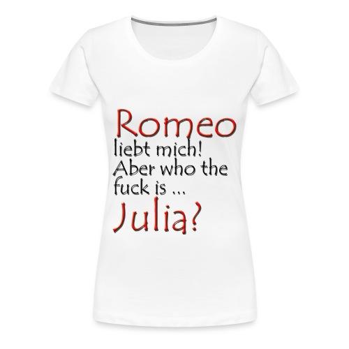 Romeo und Julia - Frauen Premium T-Shirt